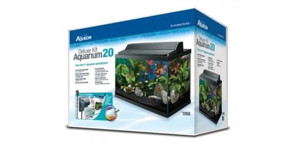 Aqueon Deluxe Kit 20 Gallon Aquarium